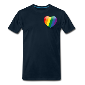 Pride Men's Premium T-Shirt - deep navy