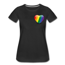 Load image into Gallery viewer, Pride Women's Premium T-Shirt - black