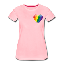 Load image into Gallery viewer, Pride Women's Premium T-Shirt - pink