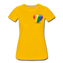 Load image into Gallery viewer, Pride Women's Premium T-Shirt - sun yellow