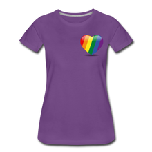 Load image into Gallery viewer, Pride Women's Premium T-Shirt - purple