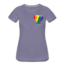 Load image into Gallery viewer, Pride Women's Premium T-Shirt - washed violet