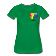 Load image into Gallery viewer, Pride Women's Premium T-Shirt - kelly green