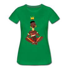 Load image into Gallery viewer, Drummer Women's Premium T-Shirt - kelly green
