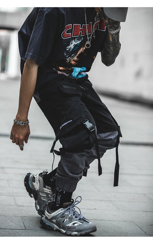 Patchwork Cargo Pants
