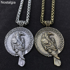 Raven Talisman Necklace