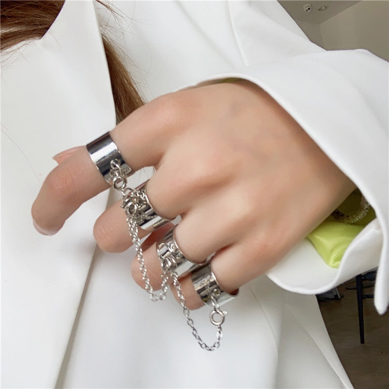 HZ 2019 Multi Finger Rings