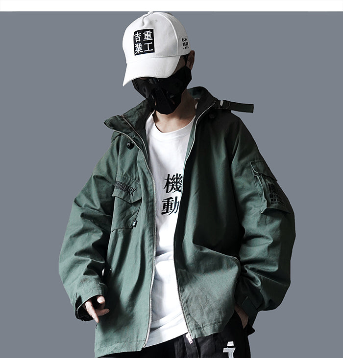 Men Cargo Jackets 2019 Autumn