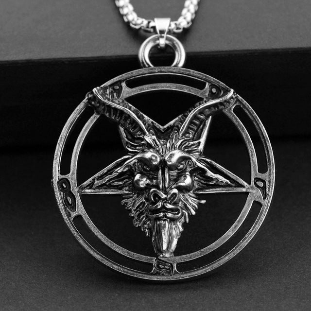 Pent. Horned Necklace