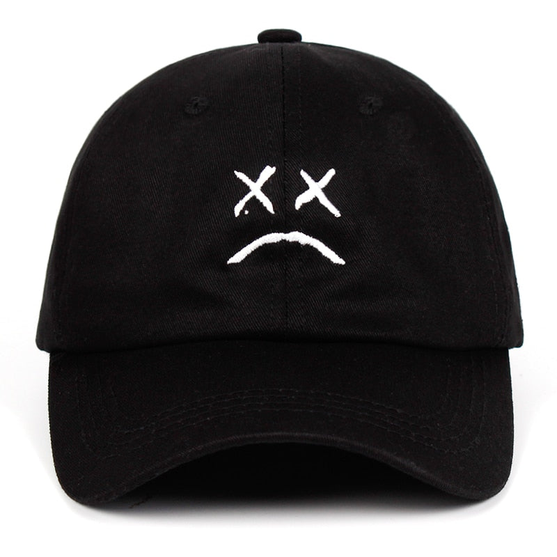 Sad Face Hat