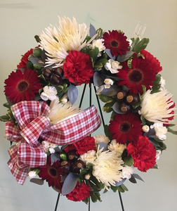 Buckeye Wreath
