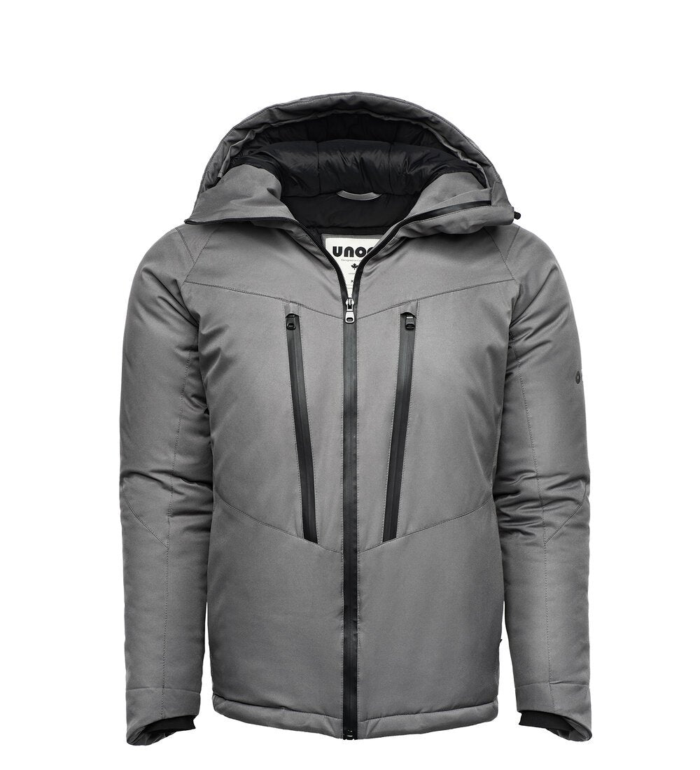 UNOO WYNE MEN'S JACKET - GREY