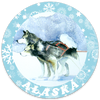 New!  Alaska Sticker Sets