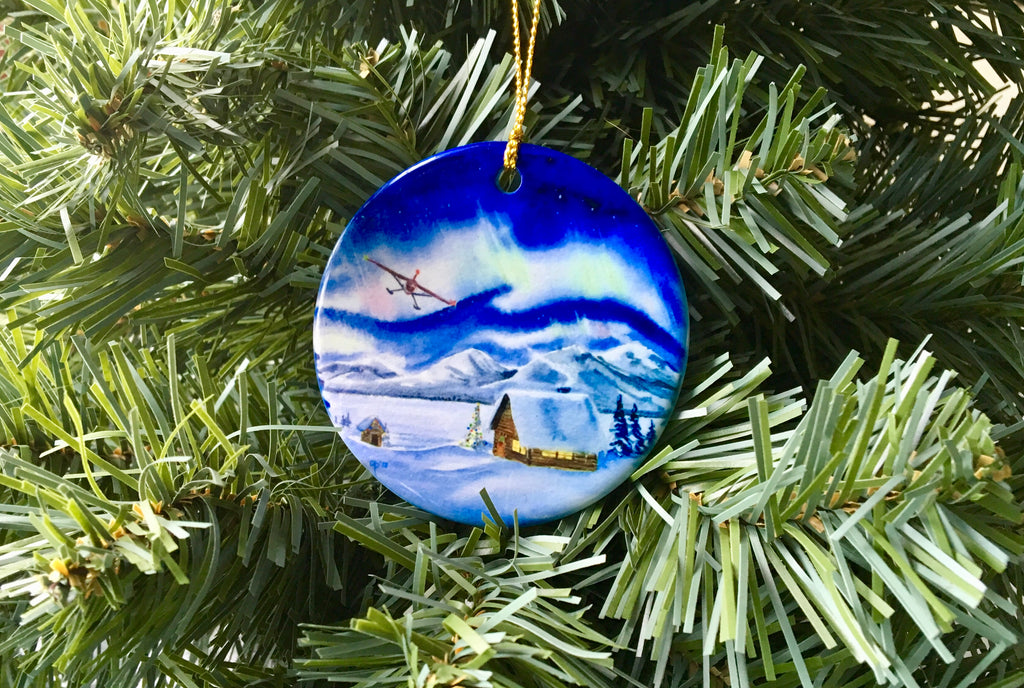 2017  Porcelain Ornament First in a New Series!