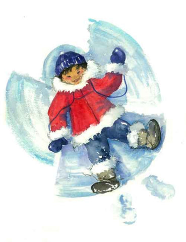 Snow Angels Variety Pack Greeting Cards