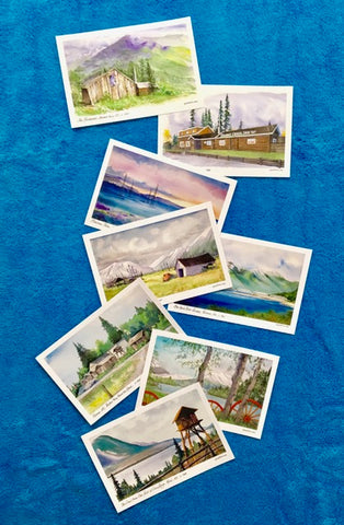""" Forget-Me-Not, Alaska"" - Postcard Images from a Time Long Gone"