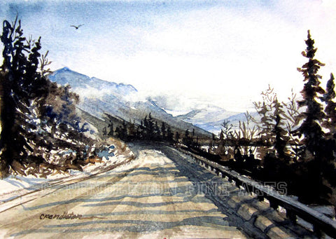 A Winter Drive to Kenai