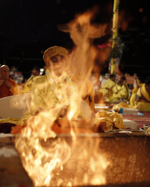 Maha Yagya Photo (Fire)
