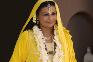 Maa In Yellow