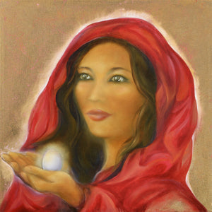 Activated Mary Magdalena Portrait by Britten