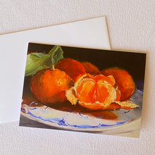 Load image into Gallery viewer, Mandarin Oranges Greeting Card