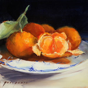 Mandarin Oranges Greeting Card