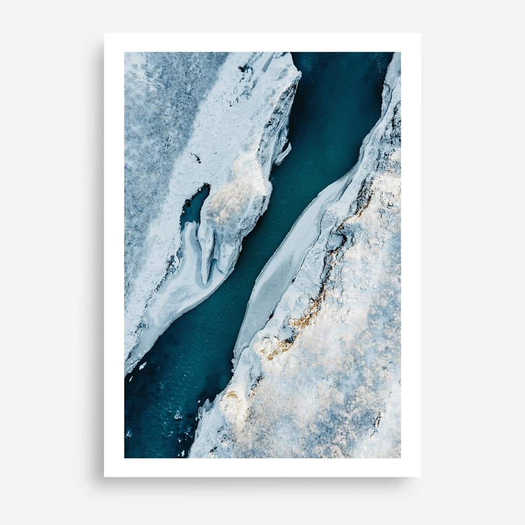 Arctic Aerial #1 - Decor Haus Store Wall Art and Limited Edition Prints