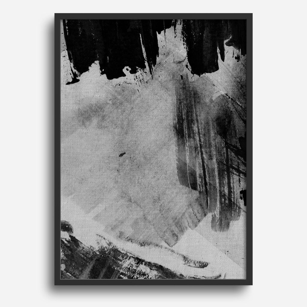 Black and Grey Abstract #1 - Decor Haus Store