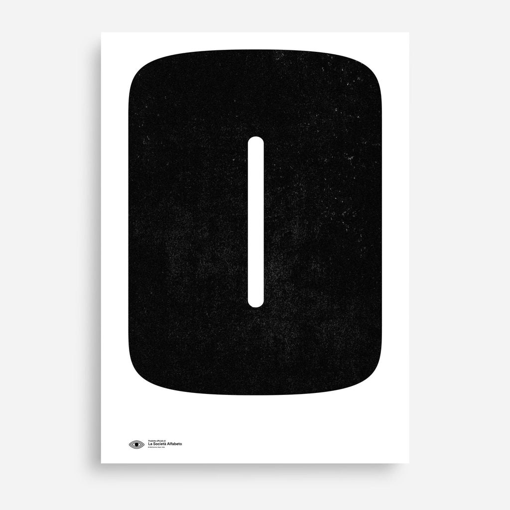 Block Letter 0 - Decor Haus Store Wall Art and Limited Edition Prints