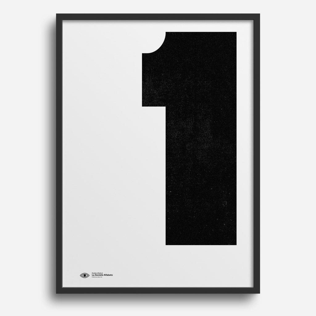 Block Letter 1 - Decor Haus Store Wall Art and Limited Edition Prints