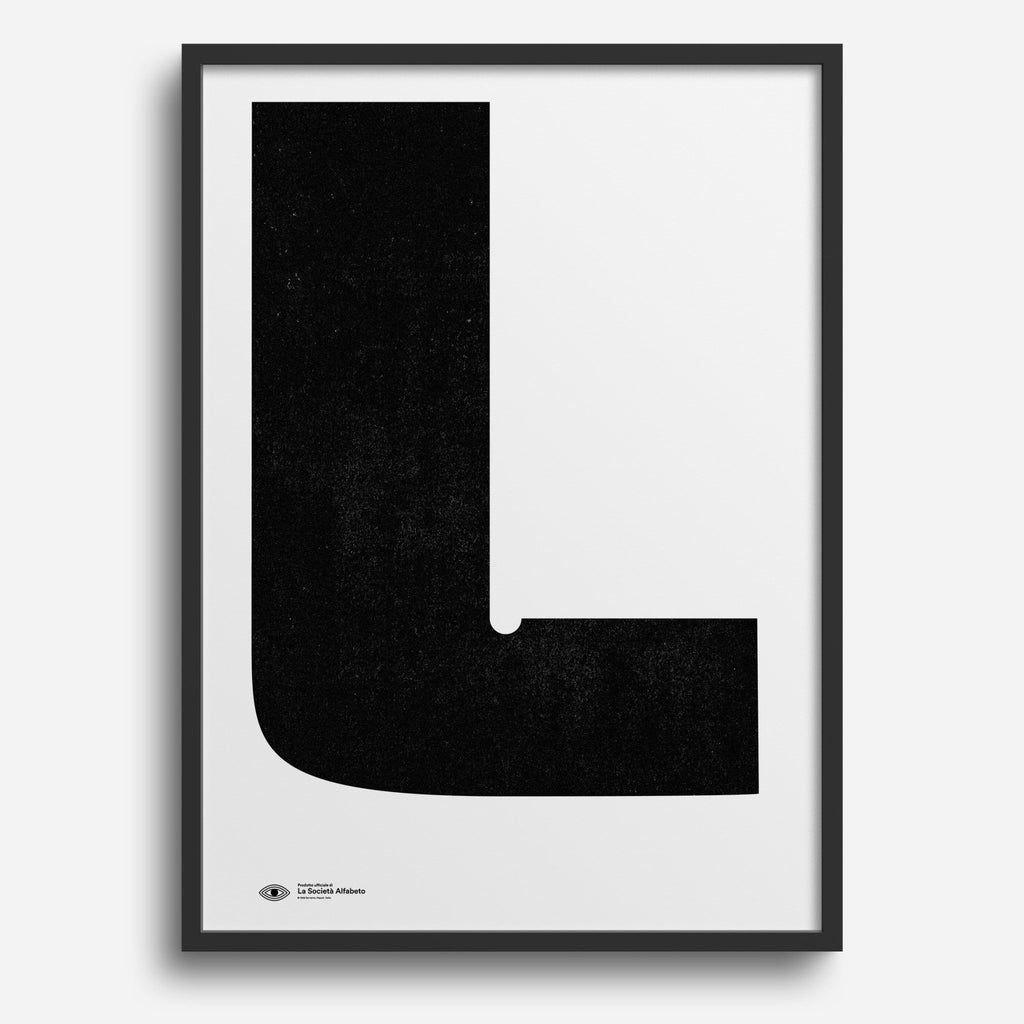 Block Letter L - Decor Haus Store
