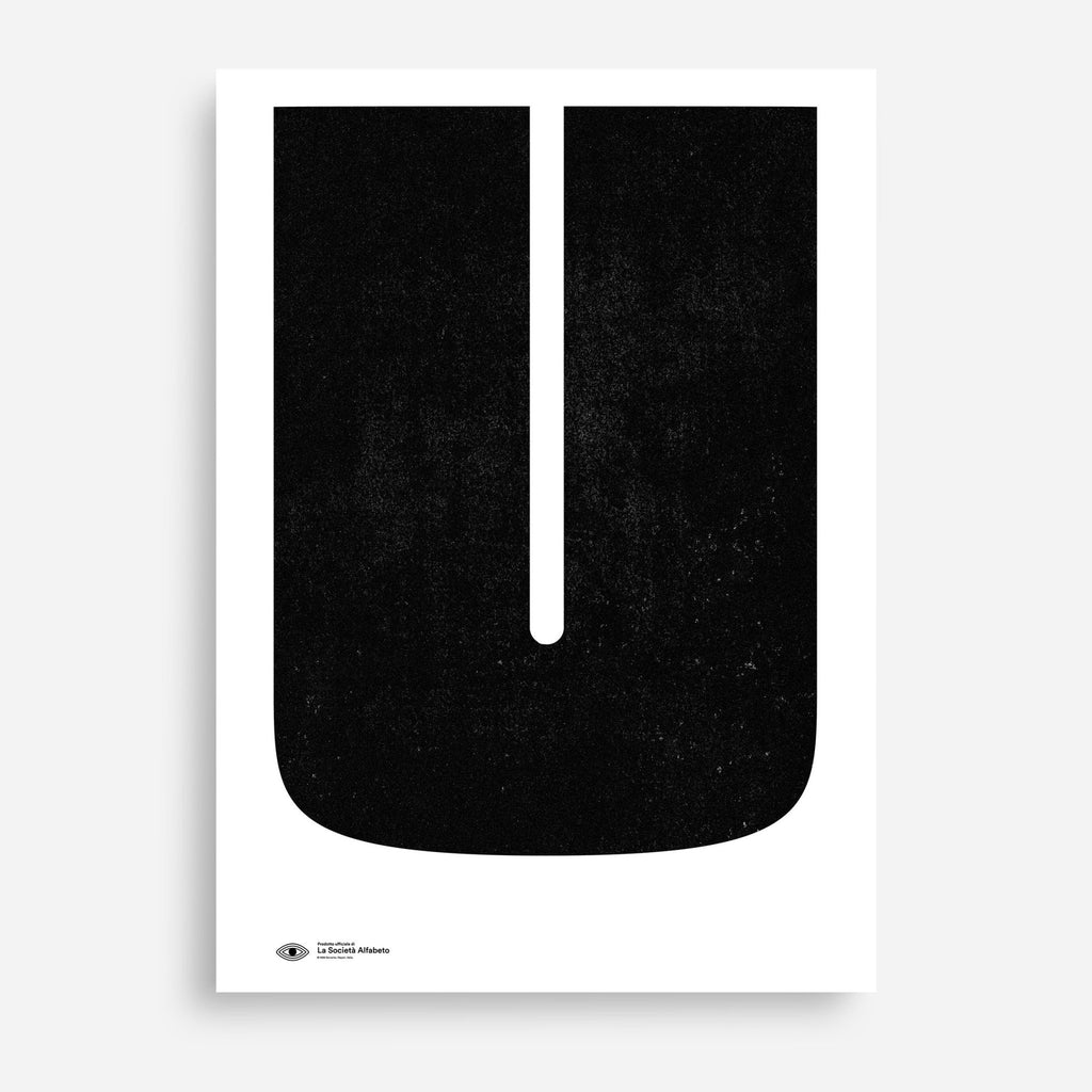 Block Letter U - Decor Haus Store Wall Art and Limited Edition Prints
