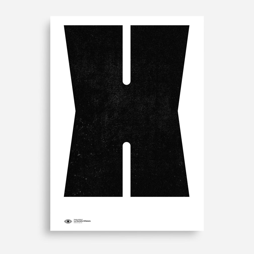 Block Letter X - Decor Haus Store Wall Art and Limited Edition Prints