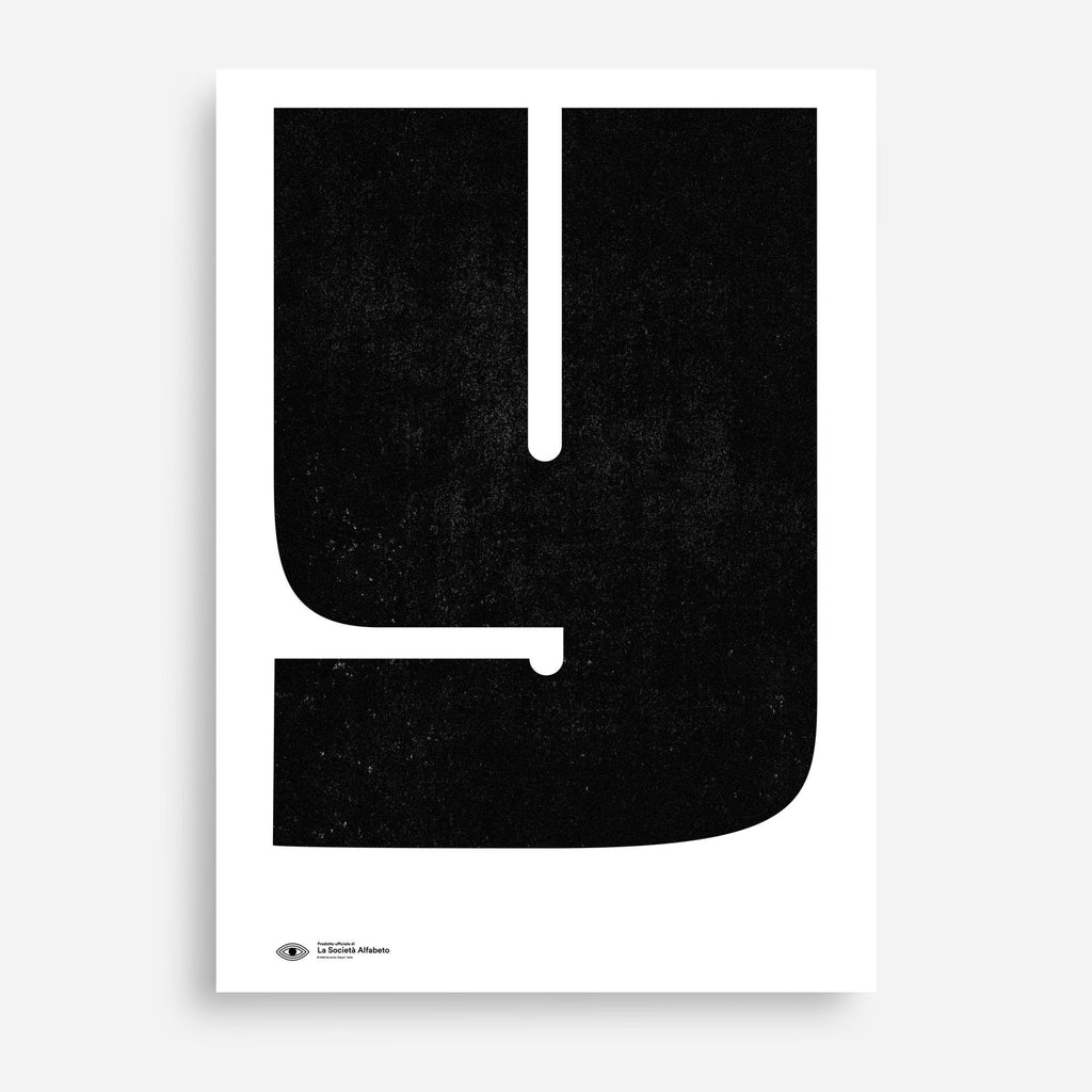 Block Letter Y - Decor Haus Store Wall Art and Limited Edition Prints
