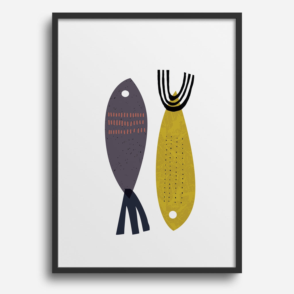 Creatures - Two Fish - Decor Haus Store Wall Art and Limited Edition Prints