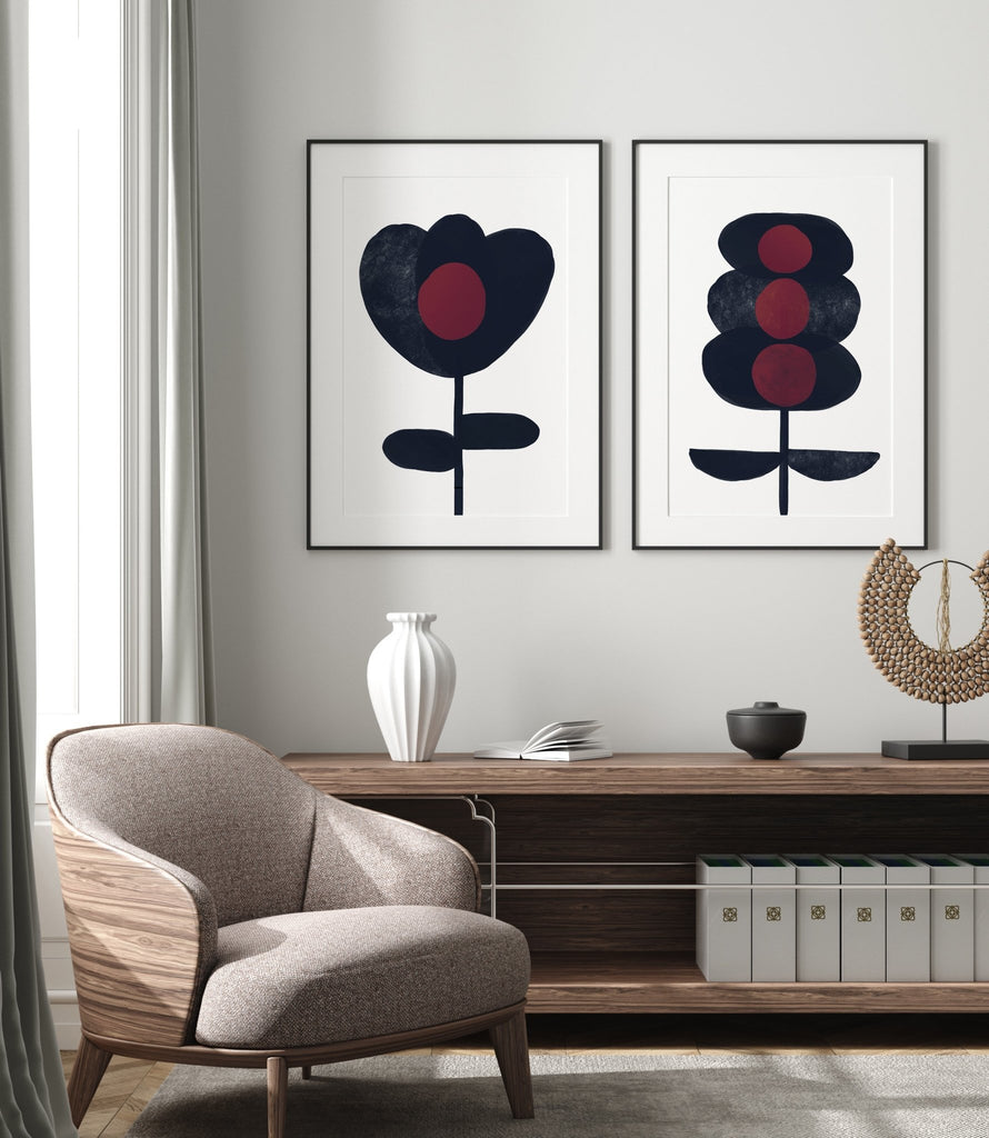 Dark Flower #3 - Decor Haus Store Wall Art and Limited Edition Prints