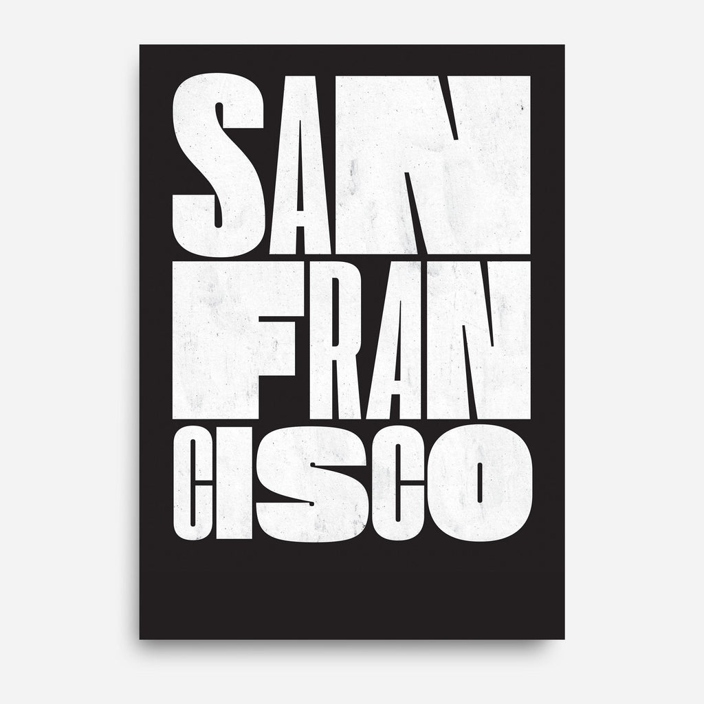 Passport — San Francisco - Decor Haus Store Wall Art and Limited Edition Prints