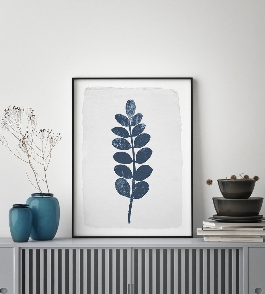 Silhouette Leaves #4 - Decor Haus Store Wall Art and Limited Edition Prints