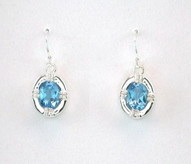 Victorian Dangle Gemstone Earrings
