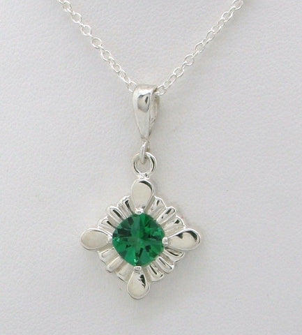 Delightful Cushion Cut Gemstone Necklace