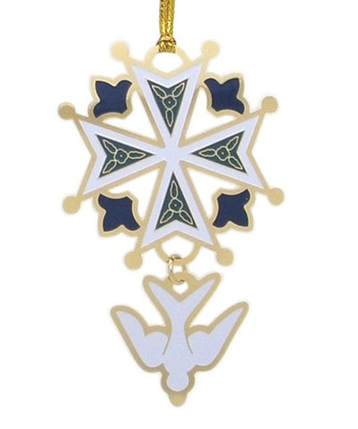 Enamel Christmas Ornament
