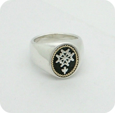 Gents Huguenot Ring