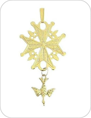 Huguenot Cross Necklace
