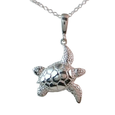 Endangered Sea Turtle Pendant