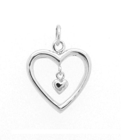 """Heart of my heart"" Charm"