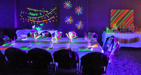 Glow In The Dark Party Best Birthday Ideas At Home