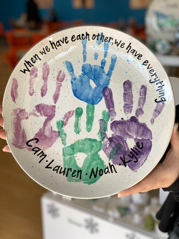 5 Great Pottery Painting Ideas from Our Team Handprints