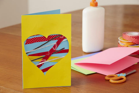 Make handmade cards fun family activities at home