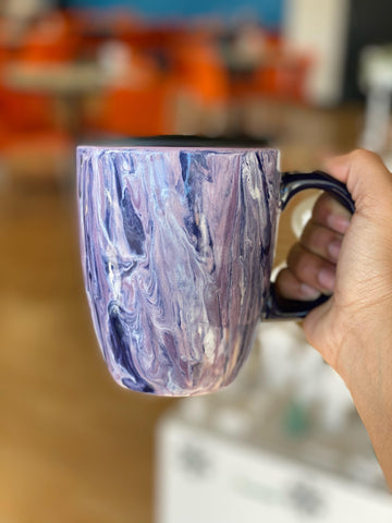5 Great Pottery Painting Ideas From Our Team Marbling