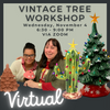 Wednesday, November 4 - VIRTUAL Tree Workshop
